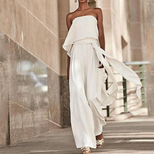 Women Jumpsuits Rompers Summer Fashion Elegant Women Sleeveless Loose Novelty Pl