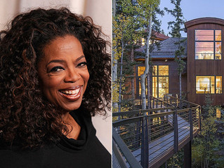 Oprah's New Telluride Mansion in the Mountains Is a Sight to Behold
