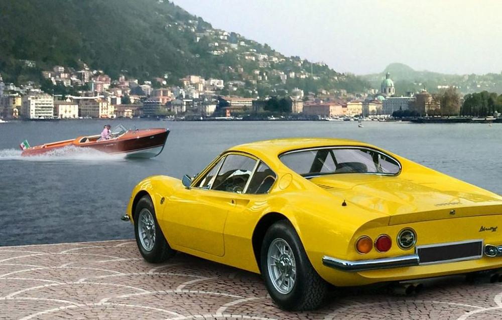 Mandarin Oriental, Milan Launches A Glamorous Vintage Ferrari Self-Drive And Riva Speedboat Experience
