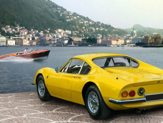 For Lake Como Lovers, Mandarin Oriental, Milan Launches A Glamorous Vintage Ferrari Self-Drive And R