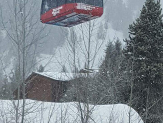 Winter is coming in Jackson Hole!