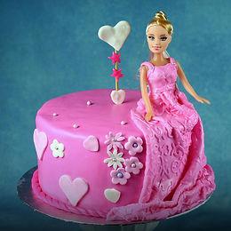 Barbie Doll Cakes