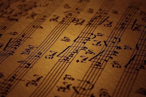 Underbust Vintage Music