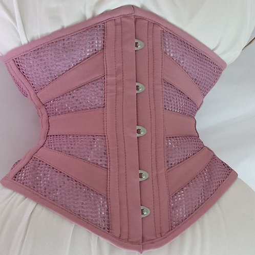 Waist horizontal  - Rose Cotton Mesh