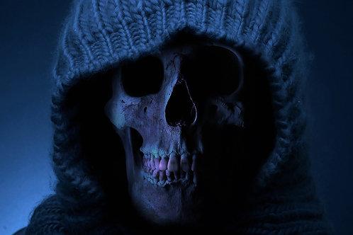 Underbust Gothic Skull