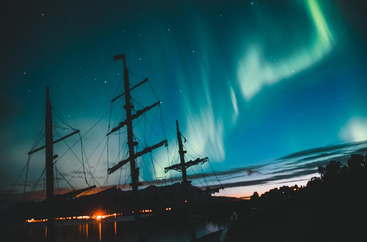 Nordlichter erleben in Nordnorwegen