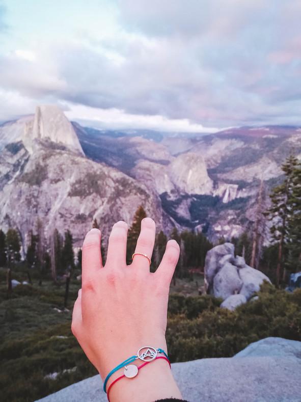 Fjella mit im Yosemite Park USA