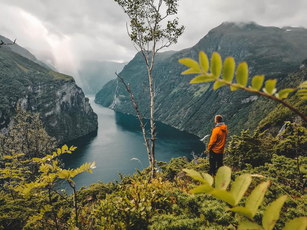 Geiranger Fjord Norwegen