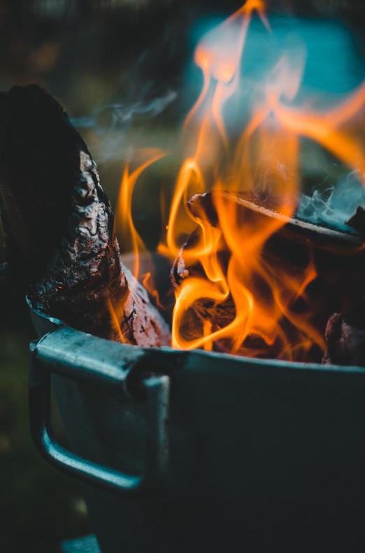Gibt es was schöneres als nach einem Abenteuer zusammen am Lagerfeuer Geschichten erzählen?