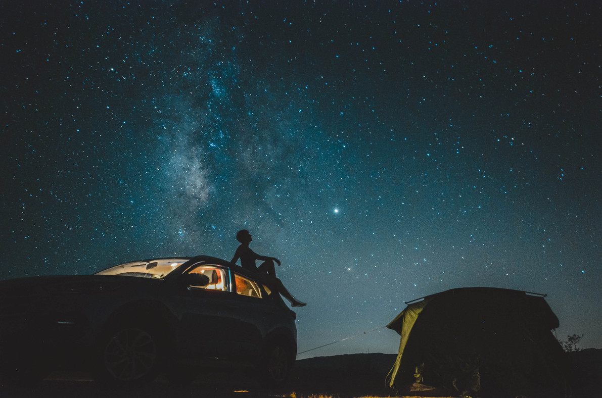 Sternenhimmel USA Joshua Tree National Park