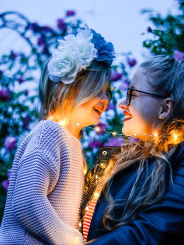 Celine und Kaja