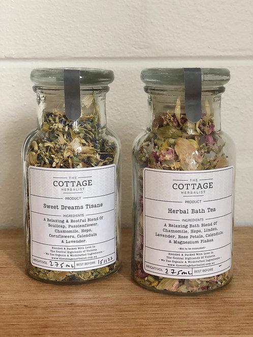 Rest Duo - Soothe Tisane & Herbal Bath Tea Pack