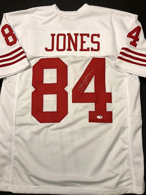 Brent Jones AUTOGRAPHED S.F. 49ers Jersey
