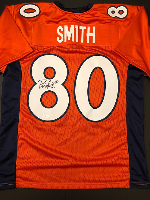 Rod Smith AUTOGRAPHED Denver Broncos Jersey