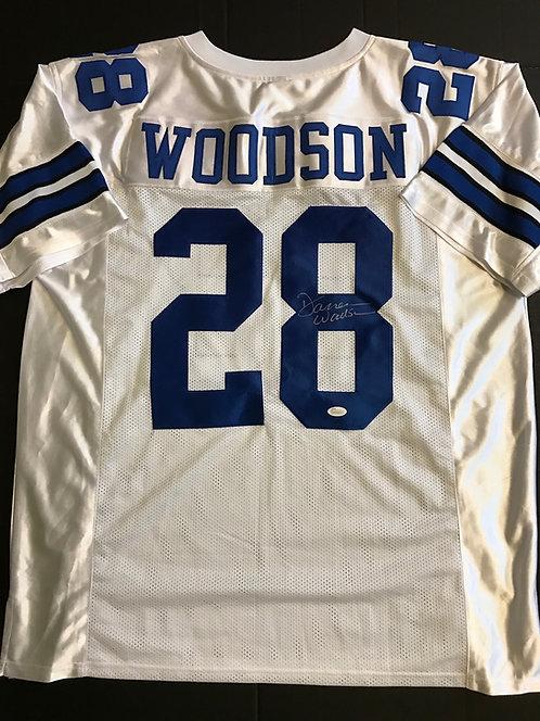 Darren Woodson AUTOGRAPHED Dallas Cowboys Jersey