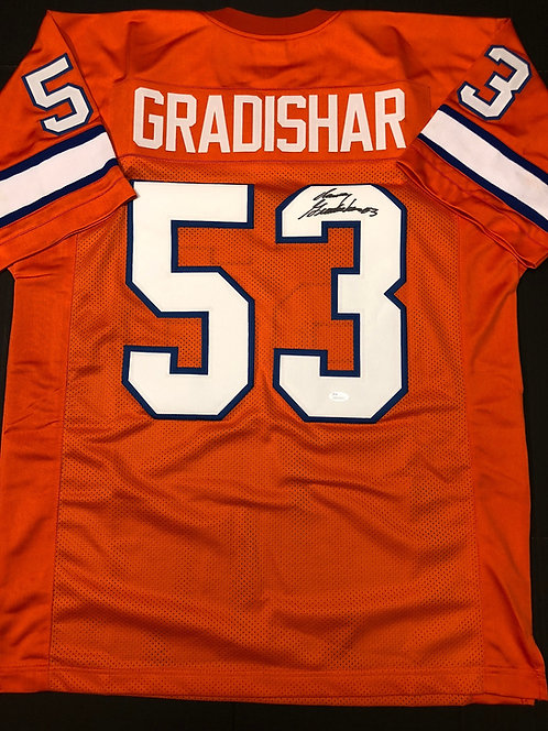Randy Gradishar AUTOGRAPHED Denver Broncos Jersey