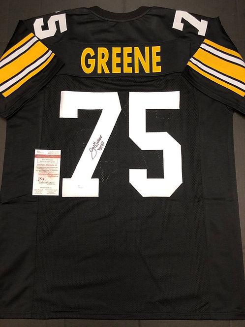 Mean Joe Greene AUTOGRAPHED Steelers Jersey