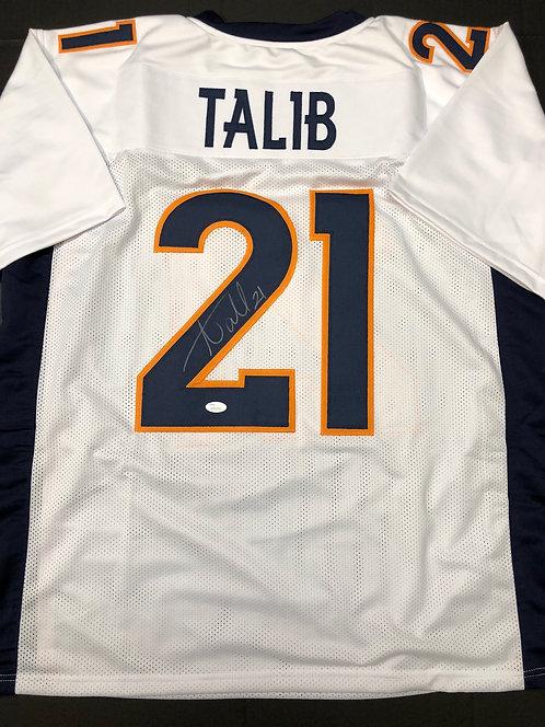 Aqib Talib AUTOGRAPHED Denver Broncos Jersey
