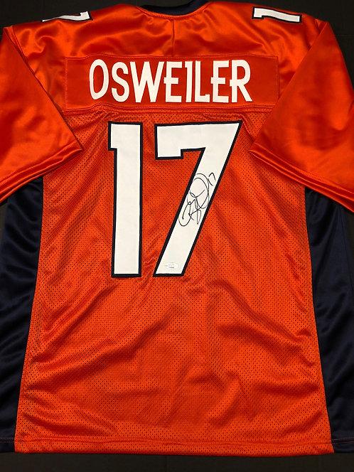 Brock Osweiler AUTOGRAPHED Denver Broncos Jersey