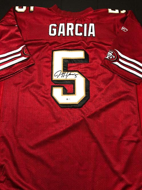 Jeff Garcia AUTOGRAPHED S.F. 49ers Jersey