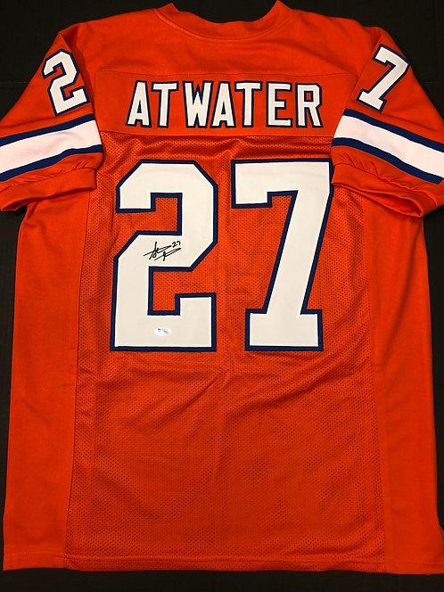Steve Atwater AUTOGRAPHED Denver Broncos Jersey