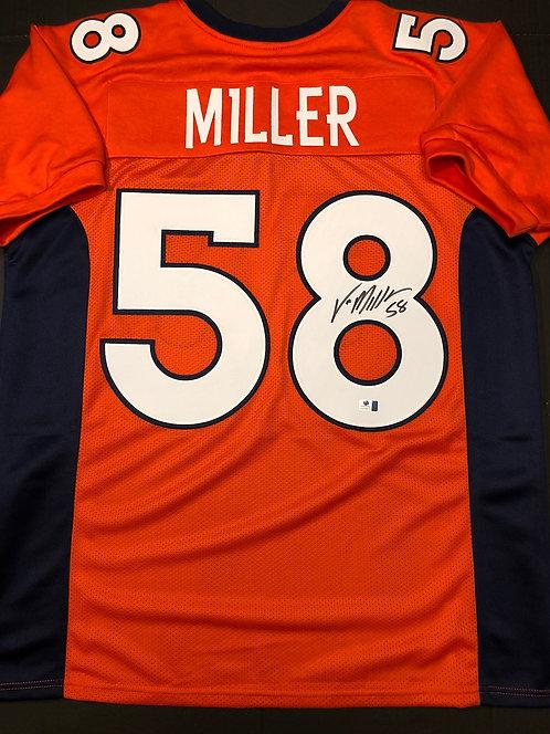 Von Miller AUTOGRAPHED Denver Broncos Jersey