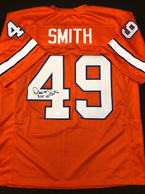 Dennis Smith AUTOPGRAPHED Denver Broncos Jersey