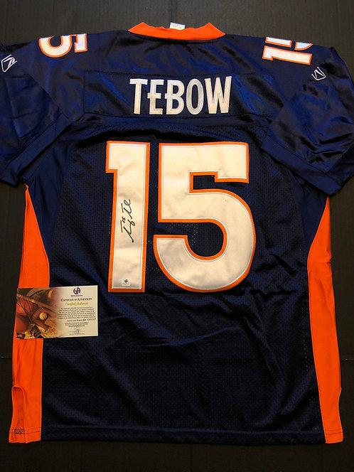 Tim Tebow AUTOGRAPHED Denver Broncos Jersey