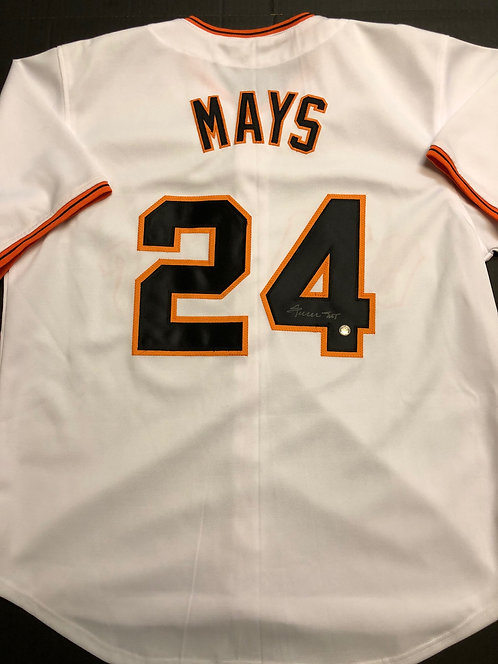 Willie Mays AUTOGRAPHED S.F. Giants Jersey