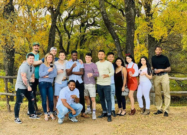 Our team at Lost Oak Winery 🍇 🍷.jpg