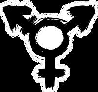 transgender-symbol-in-black-paint-sticke