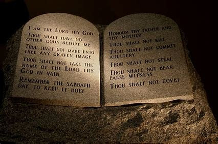 "The ""Fine Print"" Commandments"