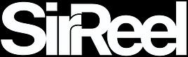 SirReel Logo (white on black).png