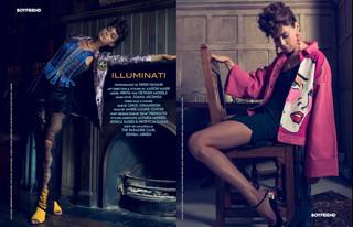 Illuminati Editorial Credits