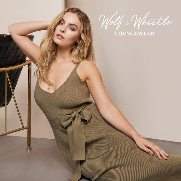 Wolf & Whistle New Loungewear Campaign