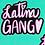 "Thumbnail: LATINA GANG STICKER 3"" x 2.52"""