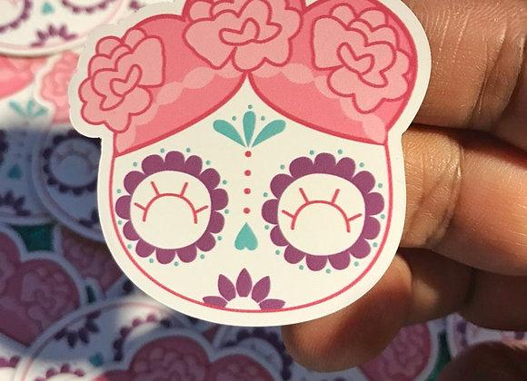 """Cute Sugar Skull Magnets Dia De Los Muertos 1.98"""" x 2"""""""