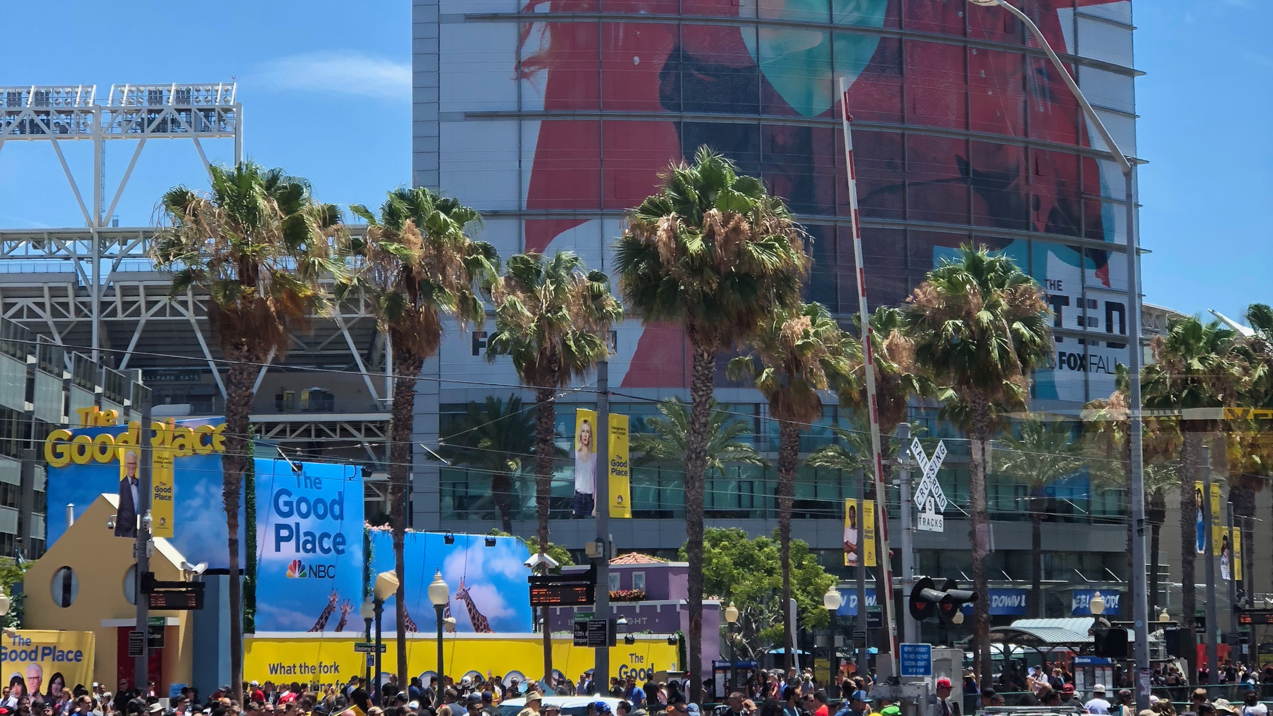 Outside of SDCC