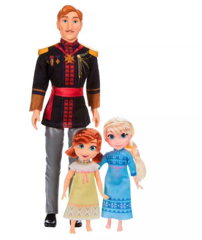 FROZEN 2 DAD & TODDLERS