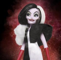 Disney Villains Cruella De Vil Fashion Doll