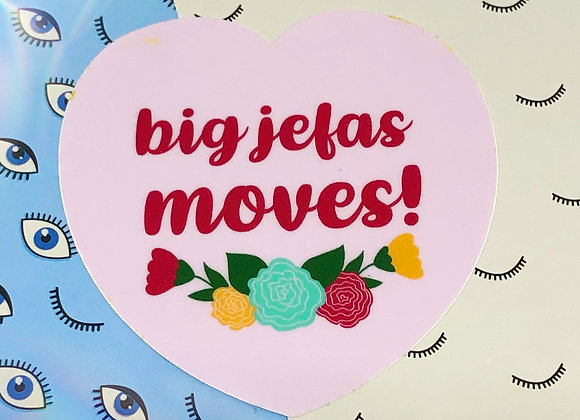 Big Jefas Moves Stickers