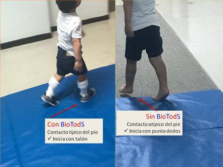 BioTodS Para El Control Inmediato De Caminar Sobre La Punta De Los Dedos De los Pies