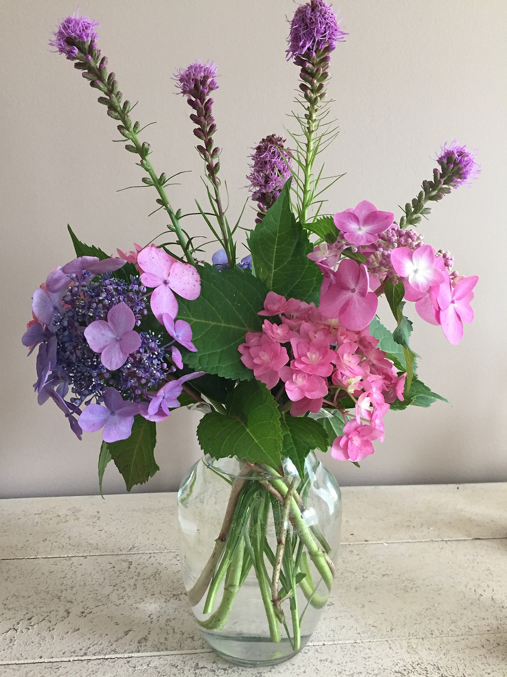 Make bouquets from your garden, like this one from Victoria's yard