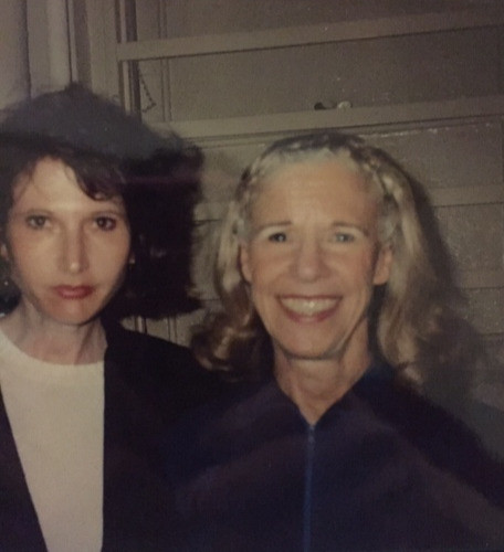Frances Sternhagen and the author