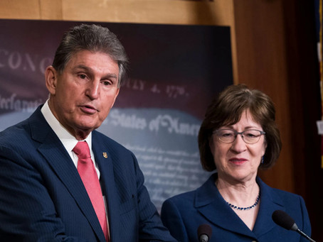Susan Collins Sad That Joe Manchin Has Replaced Her as Most Annoying Senator