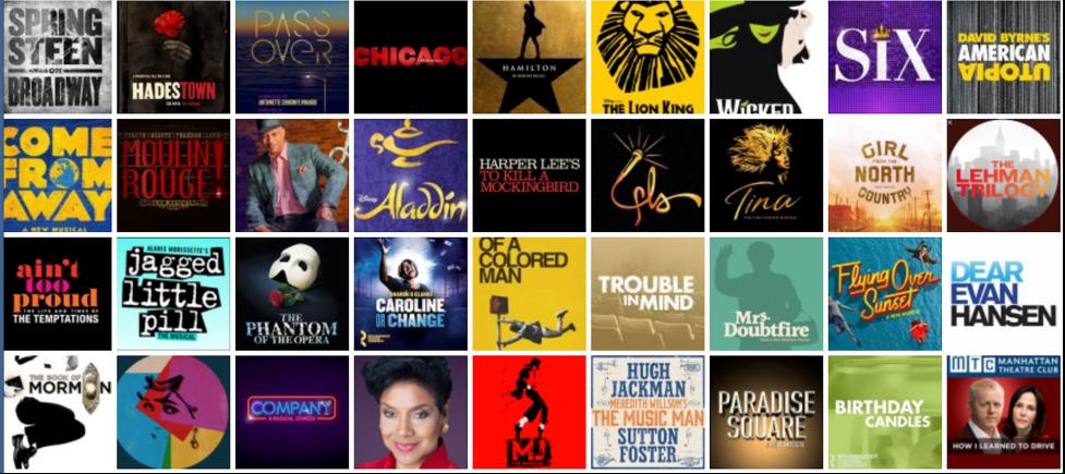 The Broadway Season 2021-2022