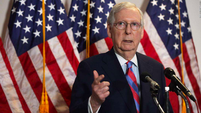 Senate Majority Leader Mitch McConnell is the architect of the Republicans' Barrett confirmation plan