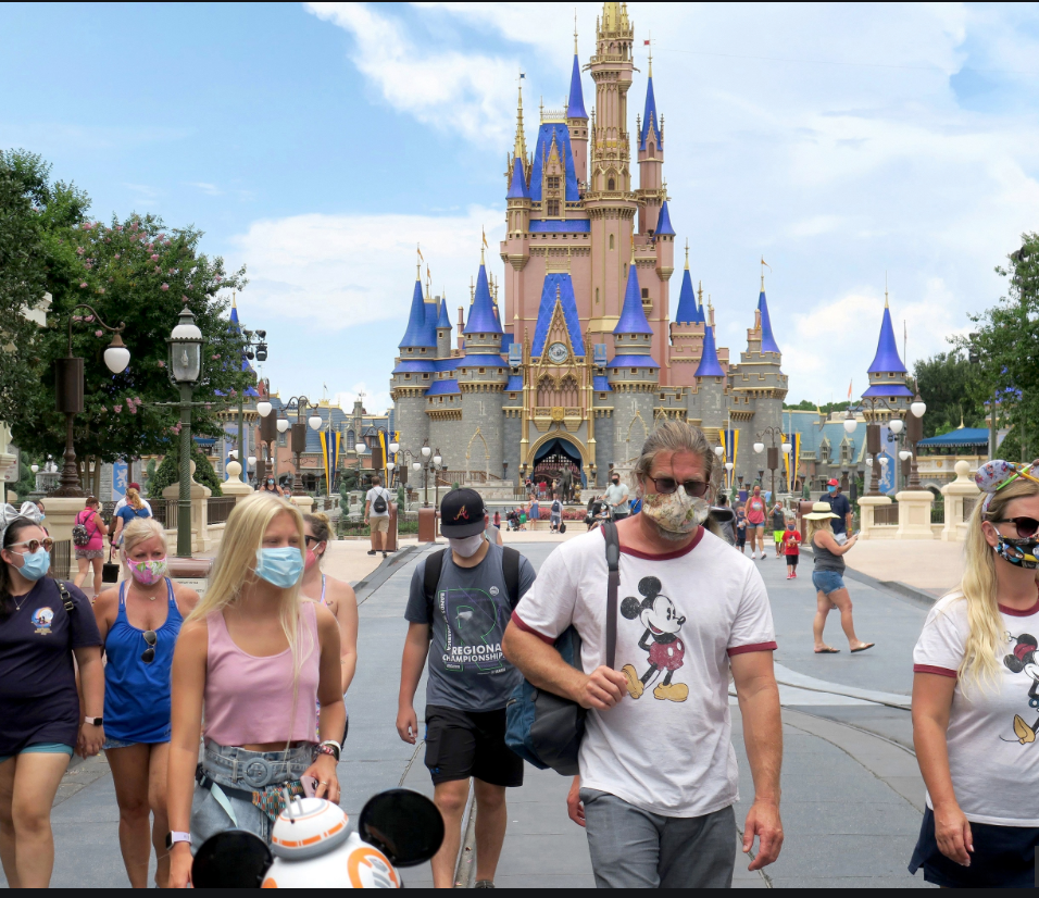 All Disney World guests ages 2 and up are now required to wear face coverings