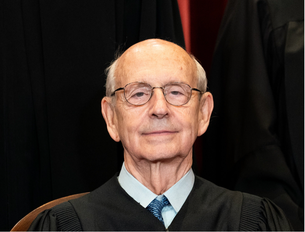 Justice Stephen Breyer, nominated by President Clinton, is a member of the Court's shrinking liberal wing