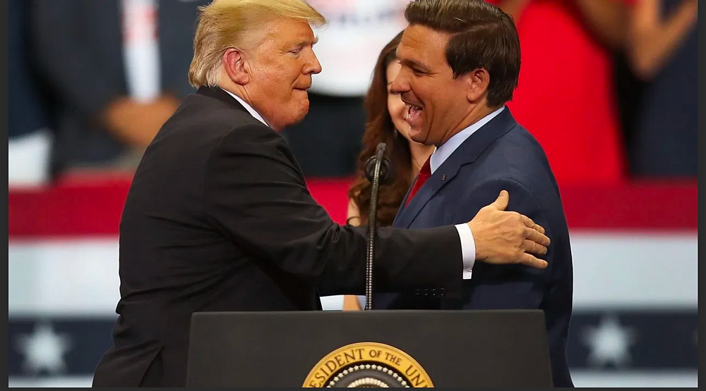 President Trump and Governor Ron DeSantis